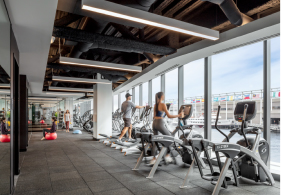 Cengage Boston Pier 4 Workout Room