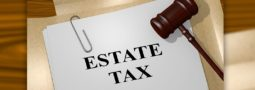 the words estate tax